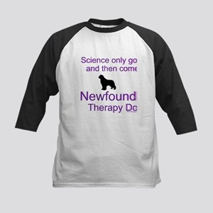 Newfoundland Therapy Dog Kids Baseball Jersey