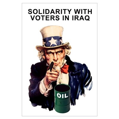 SOLIDARITY WITH VOTERS IN IRA Poster