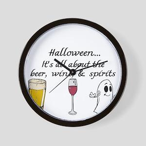 Beer, Wine, and Spirits Wall Clock