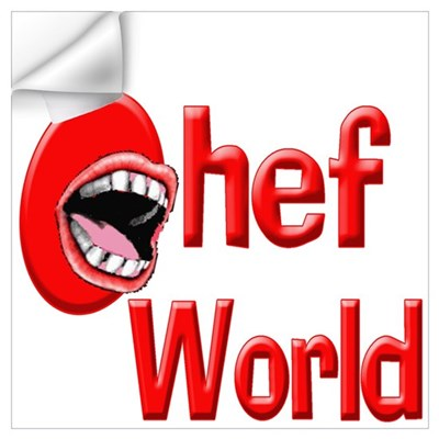 Chef World Wall Decal