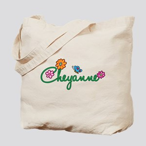 Cheyanne Flowers Tote Bag