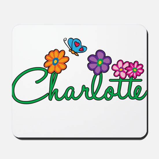Charlotte Flowers Mousepad