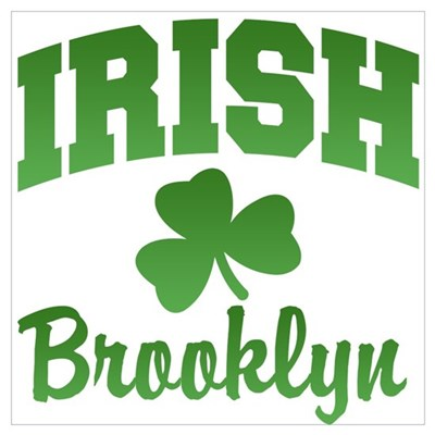 Brooklyn Irish Poster