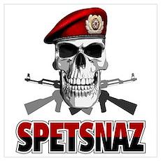 Russian Spetsnaz Poster