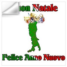Buon Natale Felice Anno Nuovo (Merry Christmas and Wall Decal