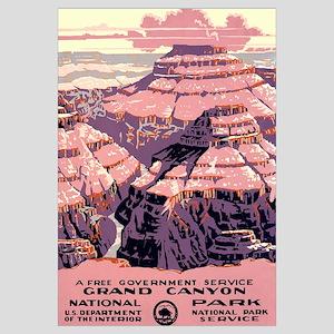 1930s Vintage Grand Canyon National Park Large Fra