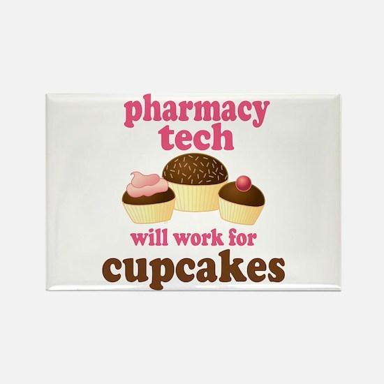 Funny Pharmacy Tech Rectangle Magnet