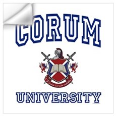 CORUM University Wall Decal