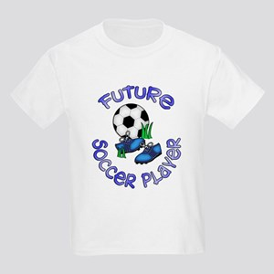 Future Soccer Player Boy Kids T-Shirt