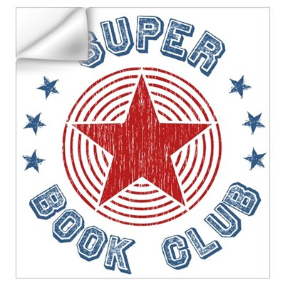 Super Book Club Wall Decal