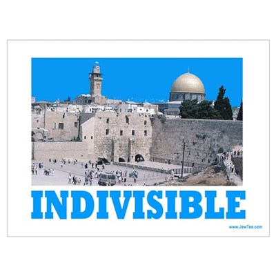 Israel Indivisible Canvas Art
