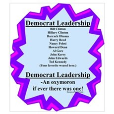 """Democrat Leaders?"" Canvas Art"