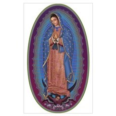 12 Lady of Guadalupe Poster