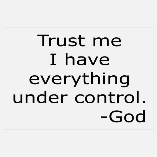 Trust Me... God