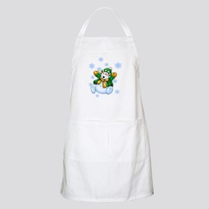 Happy Snowman Apron