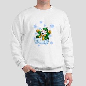 Happy Snowman Sweatshirt