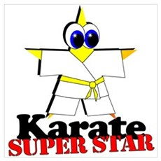 Karate Super Star Poster