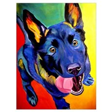 German Shepherd #2 Poster