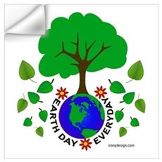 Earth Day Everyday Wall Decal