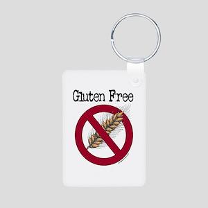 Gluten free Aluminum Photo Keychain