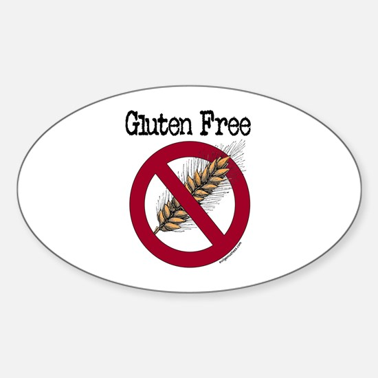 Gluten free Sticker (Oval)