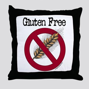 Gluten free Throw Pillow