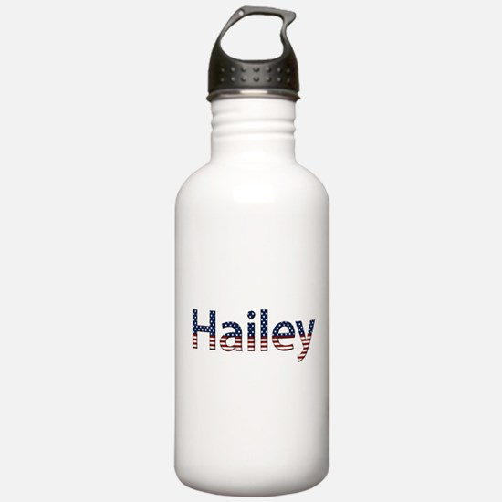 Hailey Stars and Stripes Sports Water Bottle