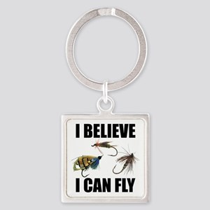 I Believe I Can Fly Keychains