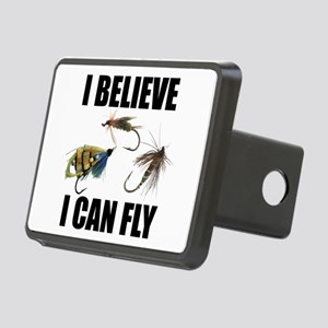 I Believe I Can Fly Rectangular Hitch Cover