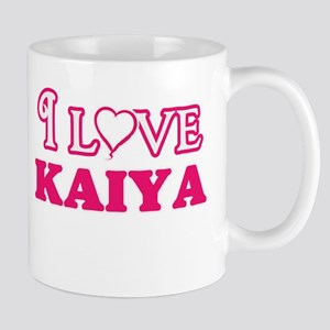I Love Kaiya Mugs