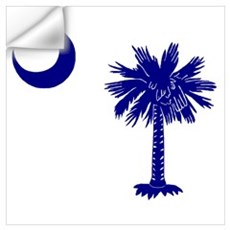 Palmetto and Crescent Wall Decal