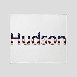 Hudson Stars and Stripes Throw Blanket