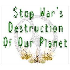 Stop War's Destruction Poster