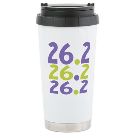 26.2 Marathon Stainless Steel Travel Mug