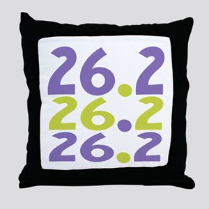 26.2 Marathon Throw Pillow