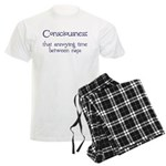 Consciousness Naps Men's Light Pajamas
