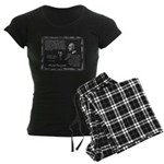 Foucault's Critique Women's Dark Pajamas