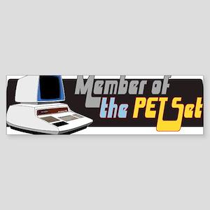 Member of the PET Set Sticker (Bumper)