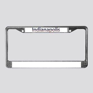 Indianapolis Stars and Stripe License Plate Frame