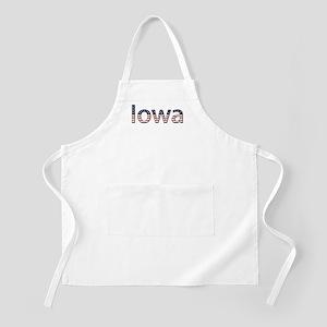 Iowa Stars and Stripes Apron