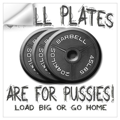 Small plates... Wall Decal