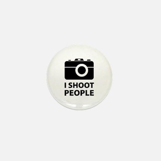 I Shoot People Mini Button