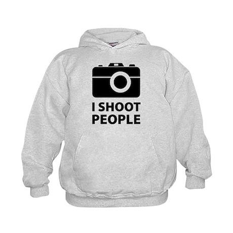I Shoot People Kids Hoodie