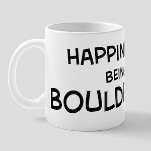 Happiness is Boulder Mug