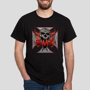 BMX skull 5 Dark T-Shirt