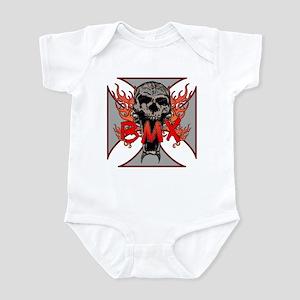 BMX skull 5 Infant Bodysuit
