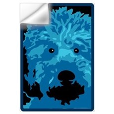 Labradoodle - color 3 Wall Decal