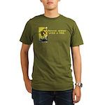 Never Argue With a Fool Organic Men's T-Shirt (dar