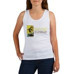 Never Argue With a Fool Women's Tank Top