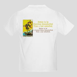 Never Argue With a Fool Kids Light T-Shirt